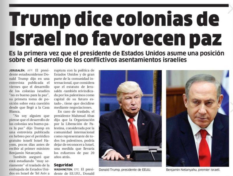 اشتباه خنده دار روزنامه دومینیکنی؛ چاپ تصویر «الک بالدوین» به جای دونالد ترامپ
