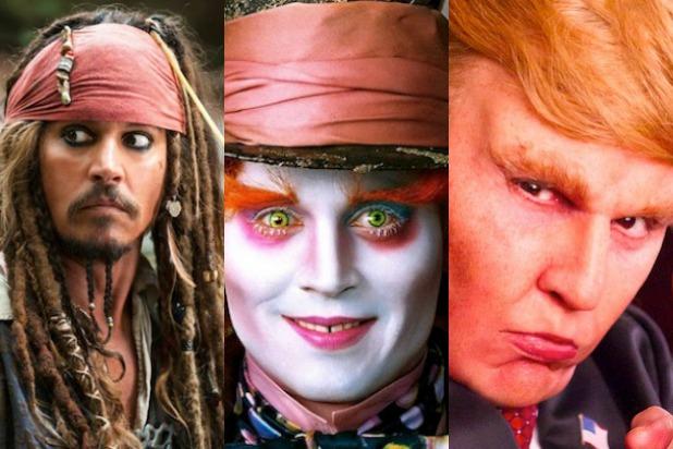 10 بازیگری که به واسطه گریم های حیرت انگیز خودشان را به هر شکلی در می آورند - روزیاتو