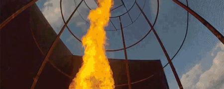 گردباد آتش