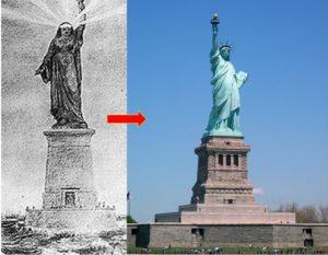 patung liberti islam muslimah