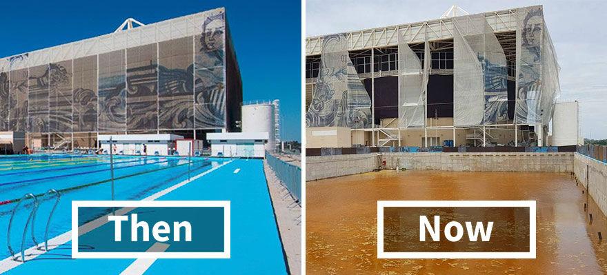 نگاهی به سرنوشت غم انگیز ورزشگاه های برگزاری مسابقات المپیک ریودوژانیرو 6 ماه بعد از پایان رقابت ها - روزیاتو