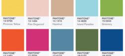 پنتون ۱۰ رنگ جدید برای بهار ۲۰۱۷ معرفی کرد