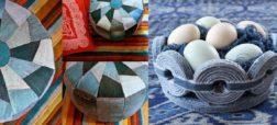 آموزش ساخت وسایل خانه با استفاده از شلوار جین؛ از زیر لیوانی تا قالیچه