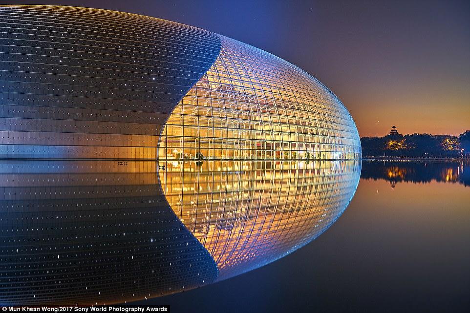 مرکز ملی هنرهای اجرایی، پکن