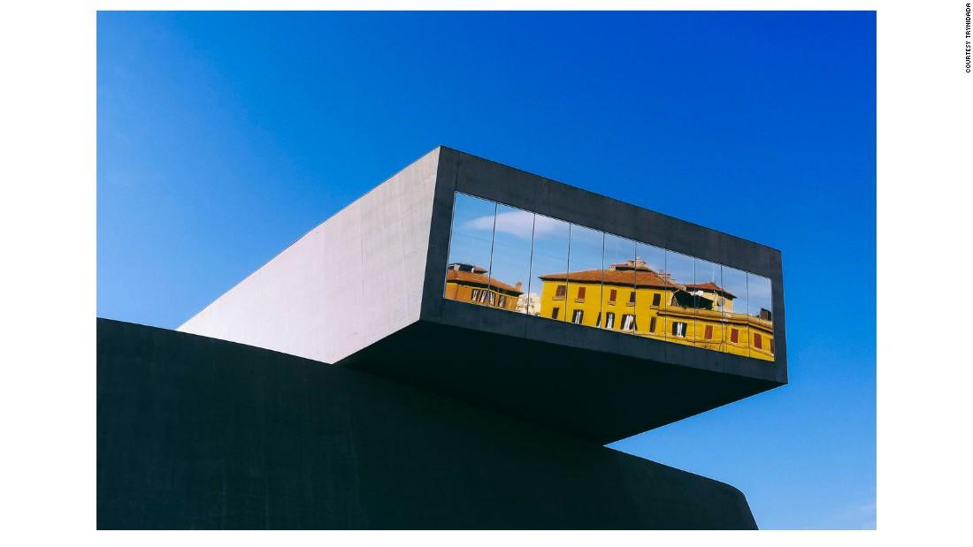 برنده جایگاه دوم - موزه MAXXI در رم - عکاس: تراینیدادا