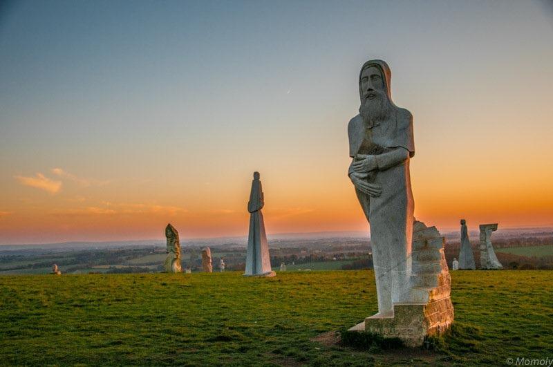 «دره قِدیسین»، محلی برای ادای احترام به افراد تقدیس شده در مذهب کاتولیک