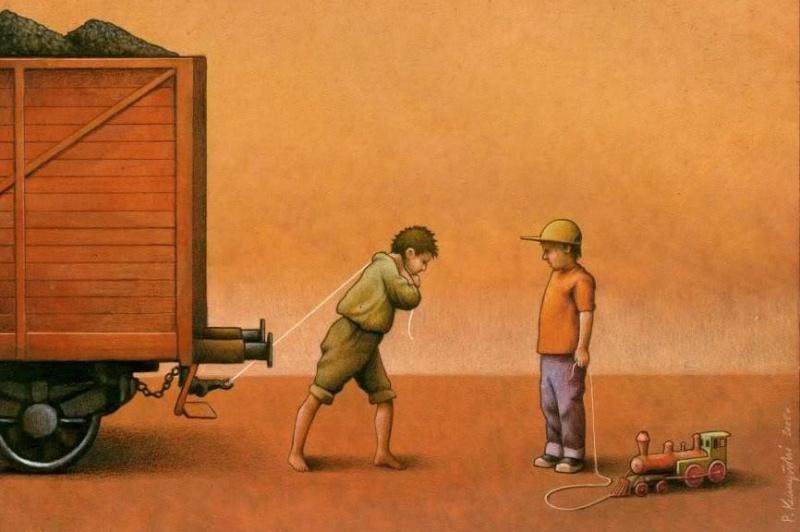 دوران کودکی متفاوت