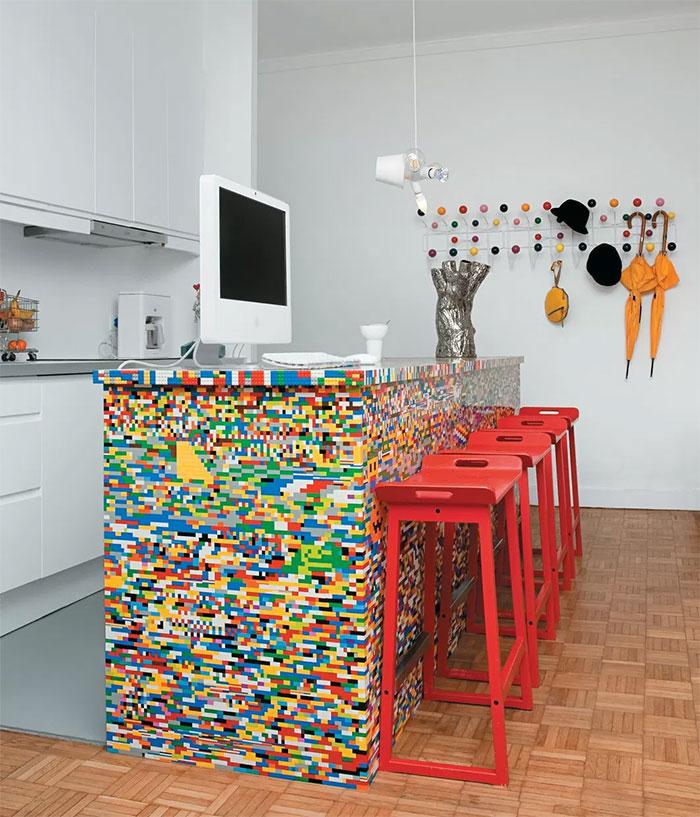 تزئین کابینت آشپزخانه