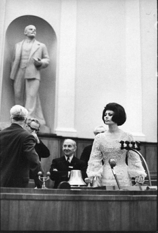 سوفیا لورن در کرملین - 1965