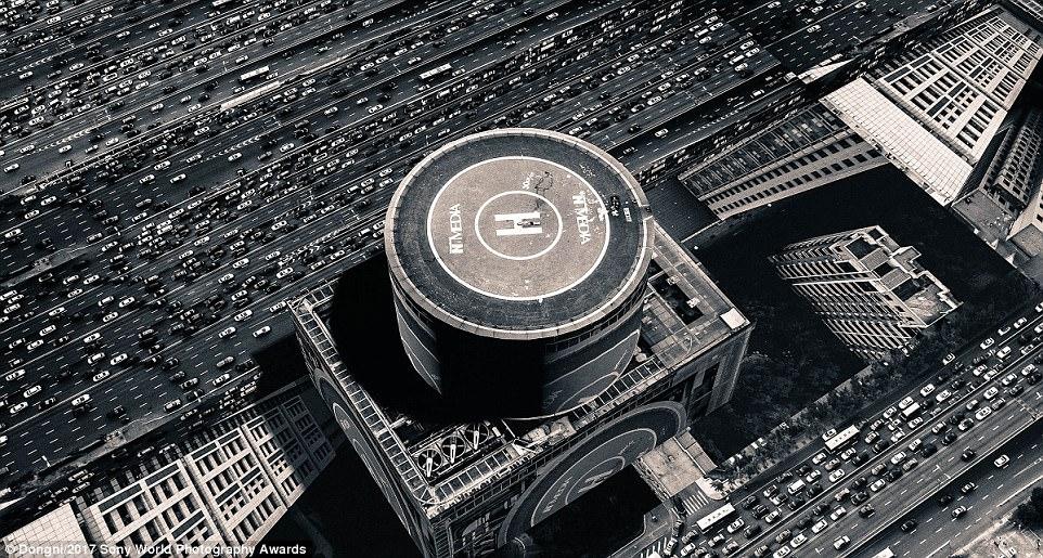 محل فرود هلی کوپتر در چین
