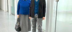 زن و شوهری که پس از ۳۷ سال زندگی همچنان لباس هایشان را با هم ست می کنند