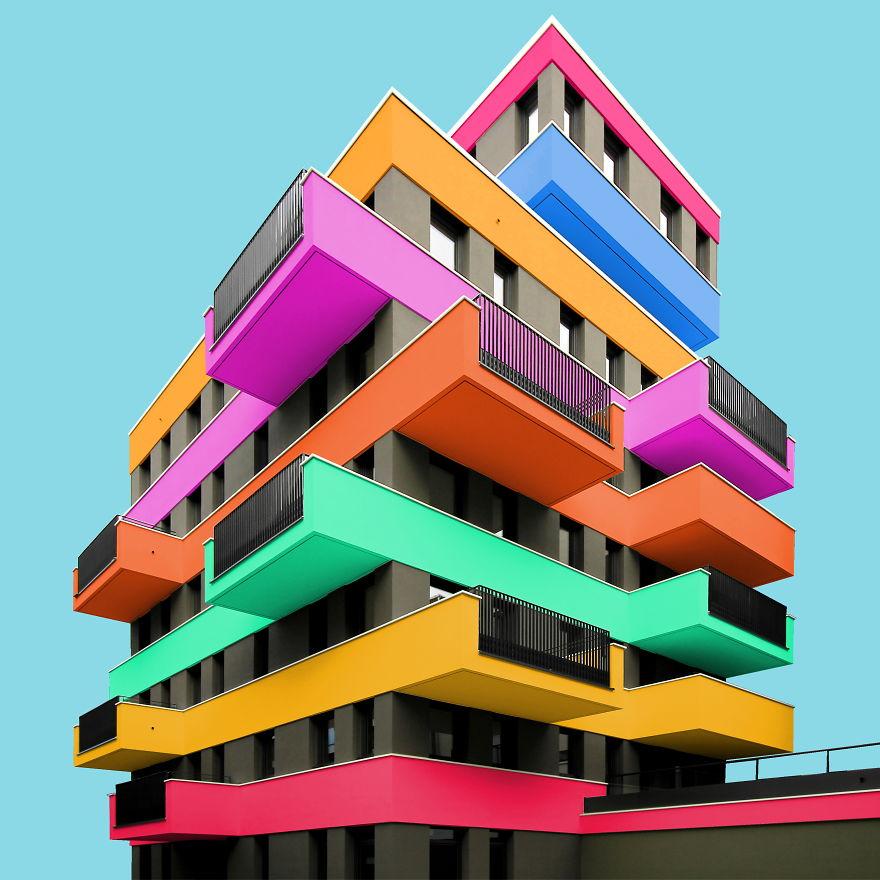 روزیاتو | ساختمان های برلین با فتوشاپ