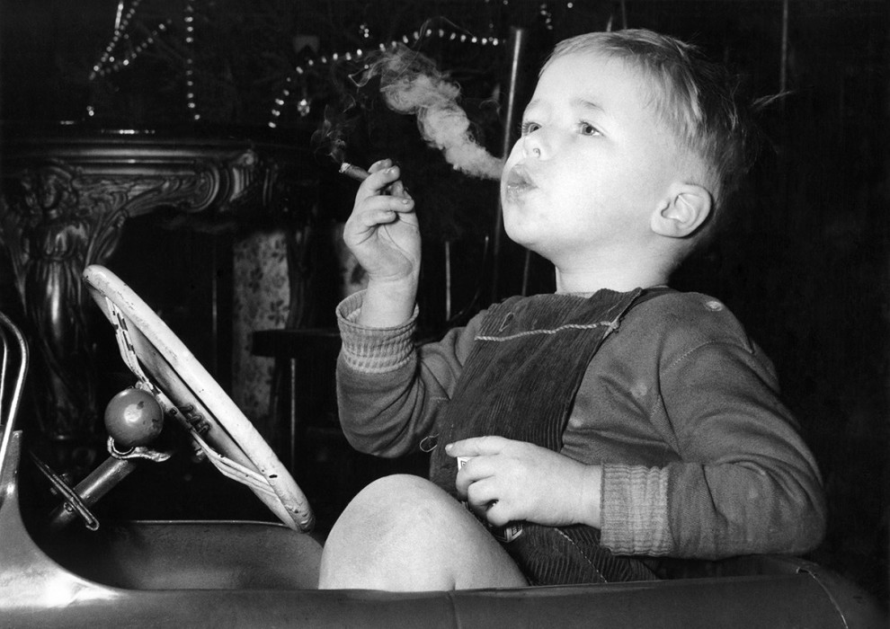 ماشین های پدالی مجهز به جاسیگاری - 1959