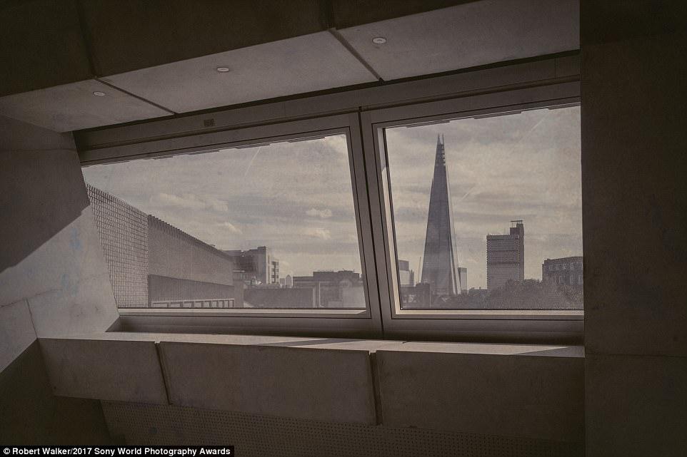 نمای Shard در لندن