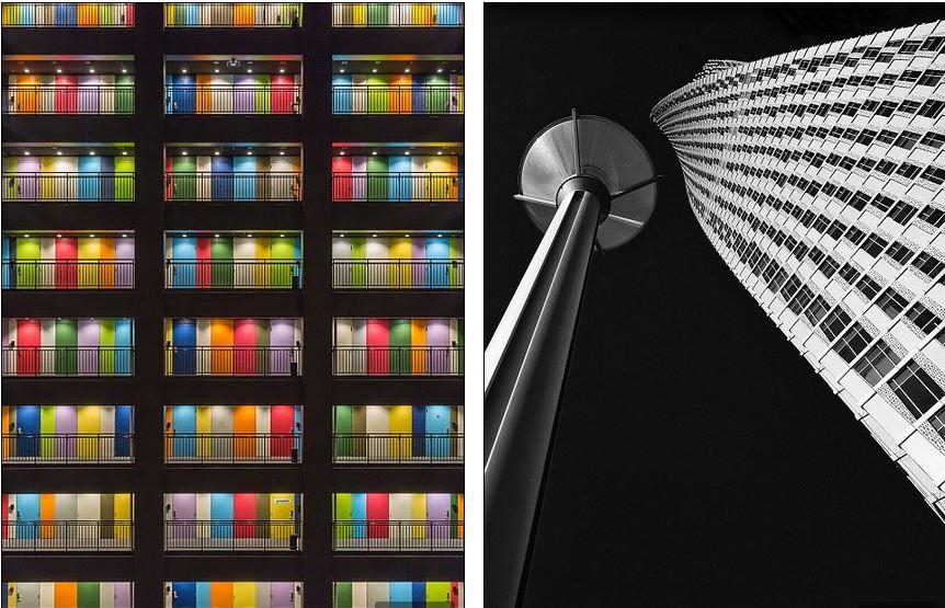 برج Cayan در دبی / درب های رنگی در شهر توکیو