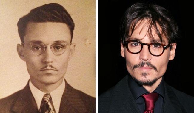 تصاویری که شباهت عجیب و جالب چهره های تاریخی به بازیگران هالیوود را نشان می دهند [قسمت دوم]