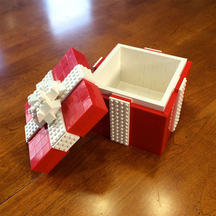 جعبه هدیه با لگو