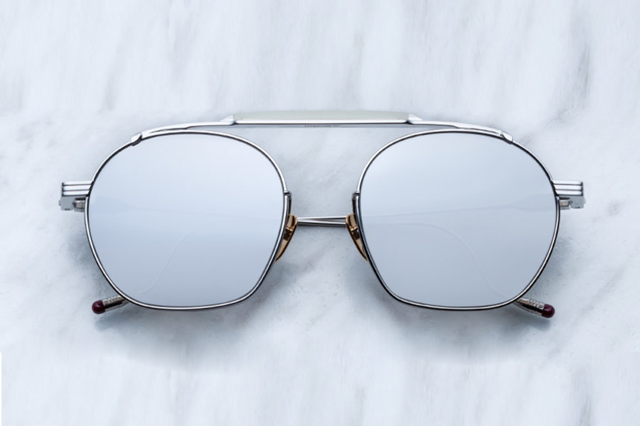 برند Jacques Marie Mage - مدل ویکتوریو سیلور - جنس: تیتانیوم - قیمت: 775 دلار