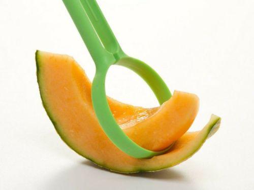 چاقوی مخصوص طالبی؛ از این وسیله می توانید برای برش دادن طالبی، سیب زمینی، کیوی و ... استفاده کنید.