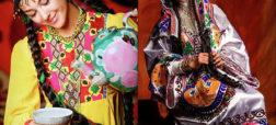 نگاهی به سبک مد و لباس اطلسی زنان تاجیکستان در نوروز