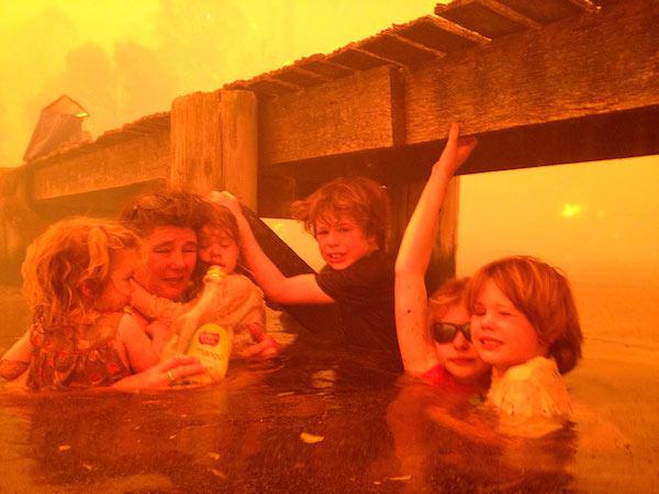Dunalley fire 5 Dunalley fire 5 Dunalley fire 1