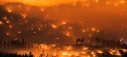 روایت ۱۰ عکس خیره کننده که وحشتناک ترین آتش سوزی ها در سراسر جهان را به تصویر می کشند