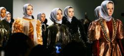 رژه مجدد مانکن های با حجاب در پایتخت مد آمریکا