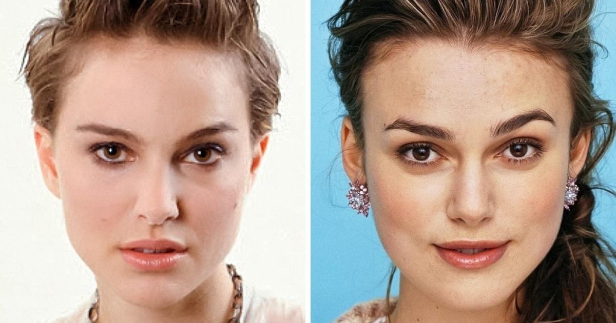 تصاویری که شباهت جالب و عجیب چهره 30 تن از بازیگران مشهور هالیوود به یکدیگر را نشان می دهند - روزیاتو