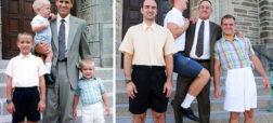 نگاهی به تصاویر جالبی که بازسازی عکس های دوران کودکی افراد هستند