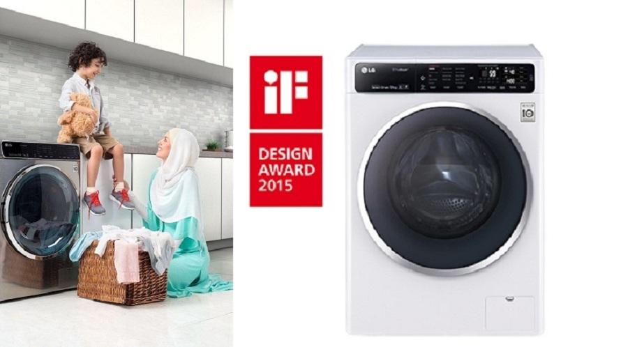 با ماشین لباسشویی تایتان الجی آشنا شوید؛ دستیاری همهکاره برای شستشوی لباسها