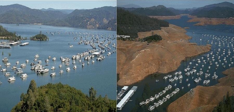 نگاهی به تفاوت بارز خشکسالی های اخیر کالیفرنیا و وضعیت کنونی آن
