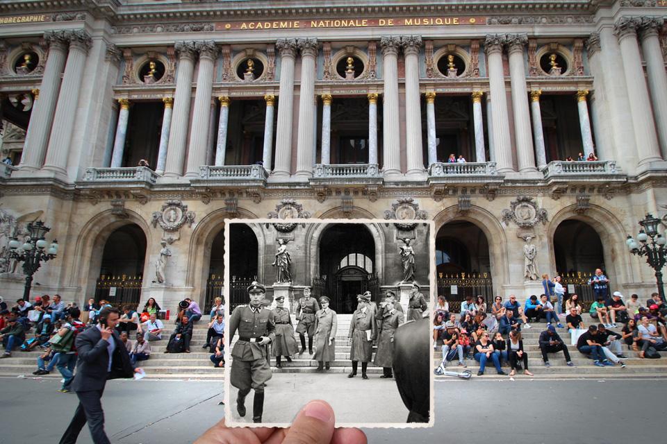 خانه اپرای پاریس - 1940