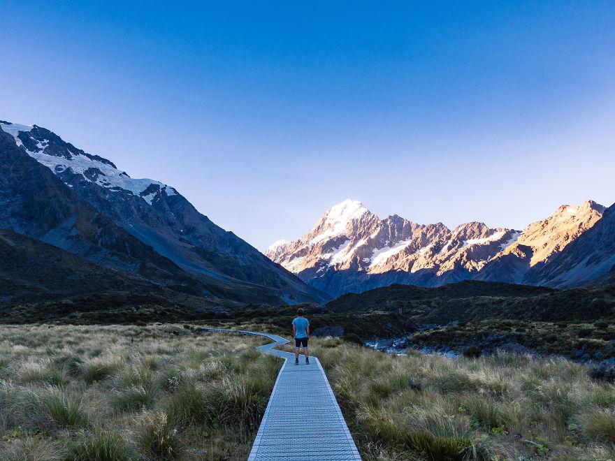 کوهستان کوک، بلندترین و خطرناک ترین کوهستان نیوزیلند