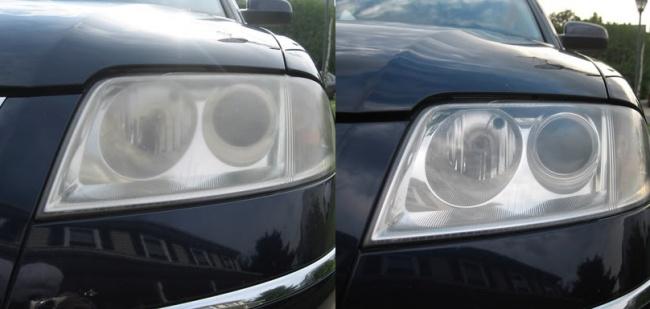 با استفاده از خمیردندان می توانید شیشه های چراغ جلوی اتومبیل را نیز برق بیندازید. خمیردندان های جدید حاوی مواد تراشنده هستند تا جرم ها را از روی سطح دندان پاک کنند، همین مواد موجب تمیز شدن شیشه های خودرو می شوند.
