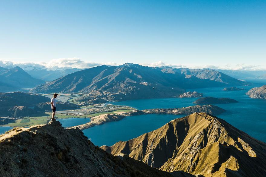 مجموعه عکس های گرفته شده توسط یک گردشگر که ثابت می کند طبیعت نیوزیلند بی نظیر است