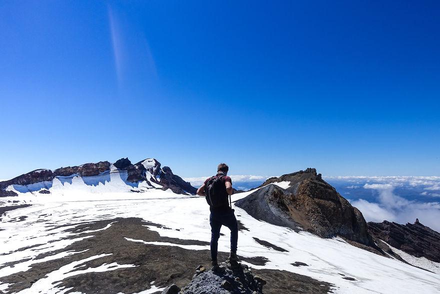 بلندترین کوه آتشفشانی نیوزیلند