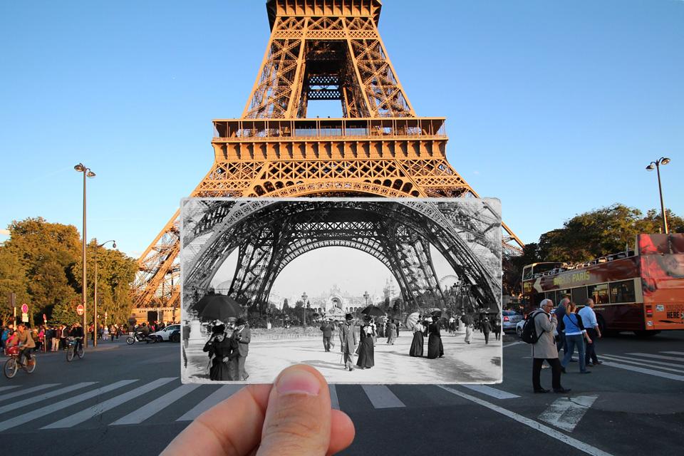 برج ایفل - 1900