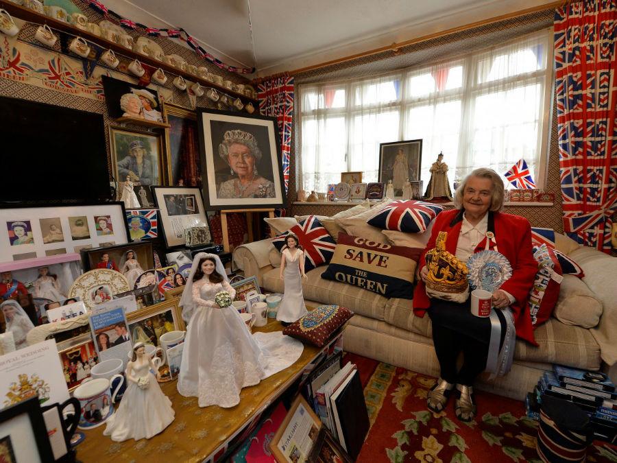 خانه «مارگارت تایلر» در شهر لندن نماد وفاداری و علاقه زیاد وی به خانواده سلطنتی است.