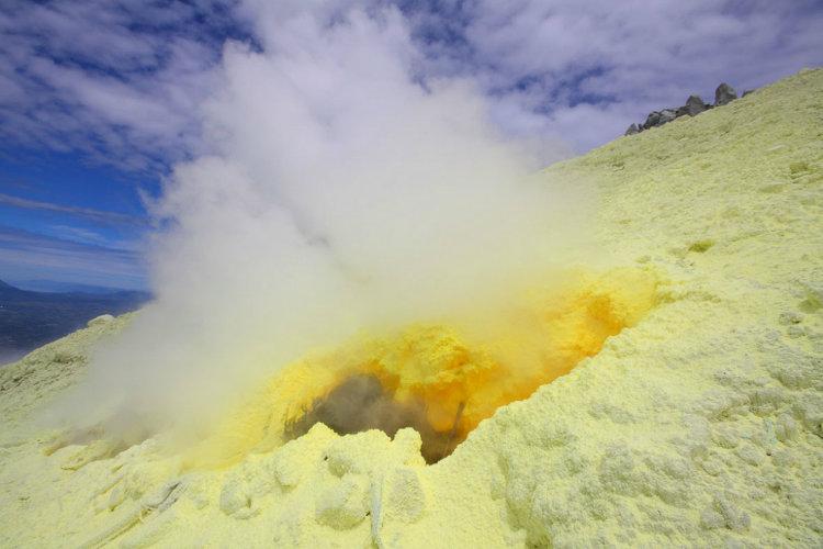 آتشفشان سینابونگ؛ اندونزی