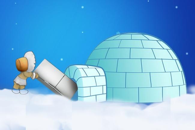 برخی از اسکیموهای به منظور پیشگیری از یخ زدن مواد غذایی خود، آن ها را درون یخچال قرار می دهند زیرا دمای مکانی که در آن ساکن هستند بسیار سردتر از فضای داخلی یخچال است.