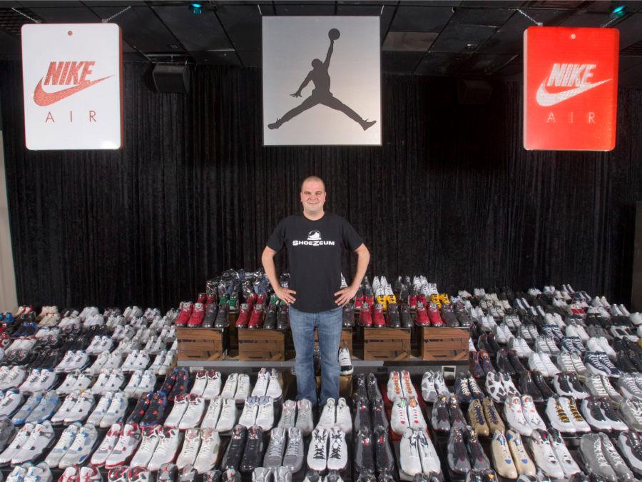 «جردن مایکل گلار» موزه ای از کفش در لاس وگاس واقع در نوادا درست کرده.