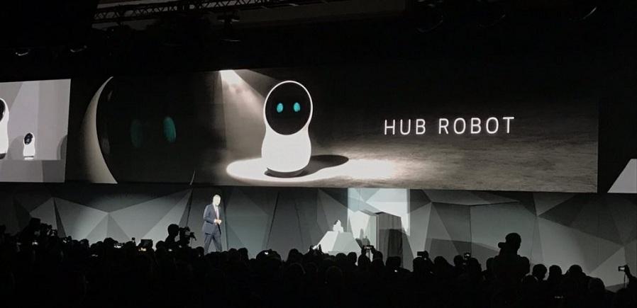 «ربات کنترل مرکزی» ال جی رویای خانه های هوشمند را به واقعیت نزدیک تر می کند