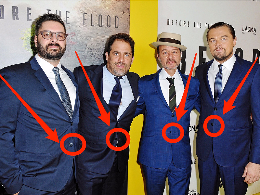 چرا نباید دکمه پایین کت های مردانه را ببندیم؟ - روزیاتو