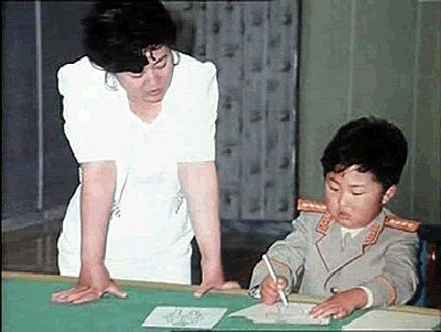 jong-un--here-with-his-mother--lived-at-home-as-a-child-w700