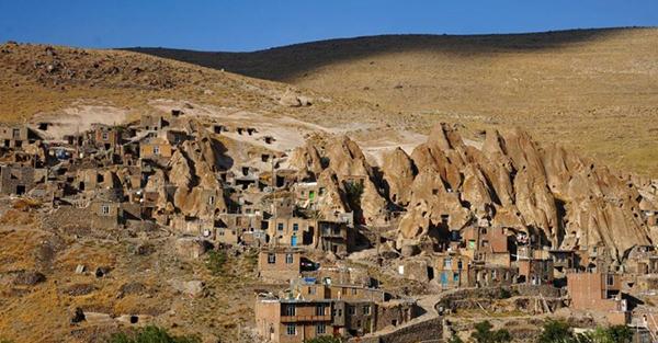 کندوان؛ سومین روستای صخره ای جهان