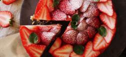 خوشمزه روز: چیزکیک توت فرنگی [تماشا کنید]