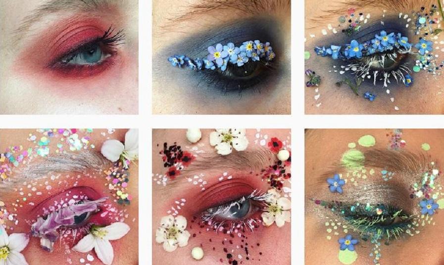 «چشم های گلخانه ای»؛ پروژه آرایشگری هنرمند ۲۱ ساله انگلیسی