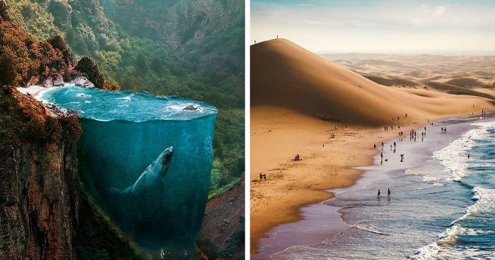 عکس های سورئال بی نظیری که قدرت تخیل بیننده را به چالش می کشند