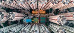 عکس های هوایی از هنگ کنگ که نمایش دهنده فاجعه برج سازی در این شهر هستند