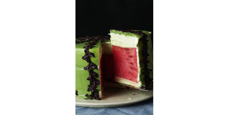 خوشمزه روز: کیک هندوانه ای [تماشا کنید]